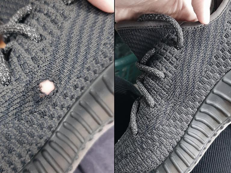 Quy trình sửa, phục hồi giày rách